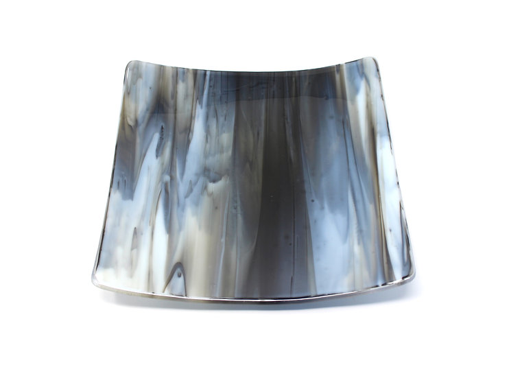 Grey Wolf Granite Swoop Plate