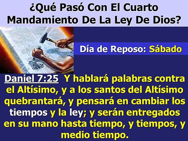 ¿Qué+Pasó+Con+El+Cuarto+Mandamiento+De+L