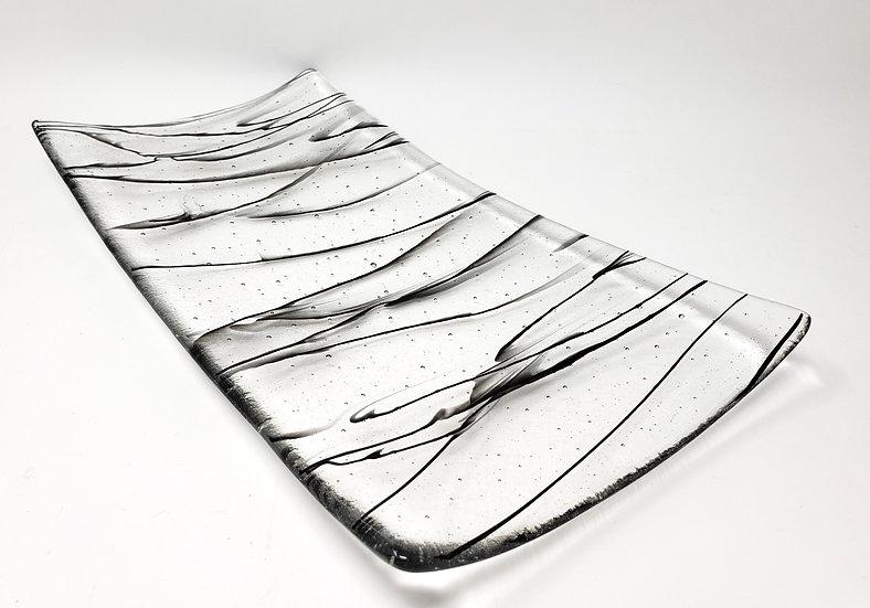 Modern Art XL Flare Platter