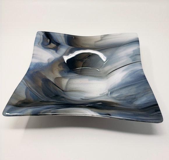 Grey Wolf Granite Flare Bowl