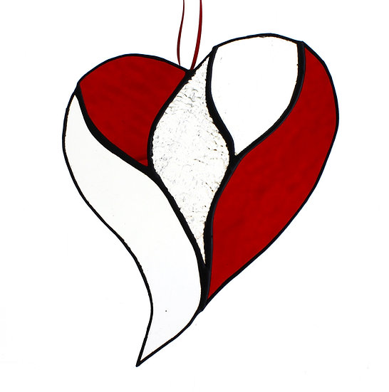 Stained Glass XL Heart