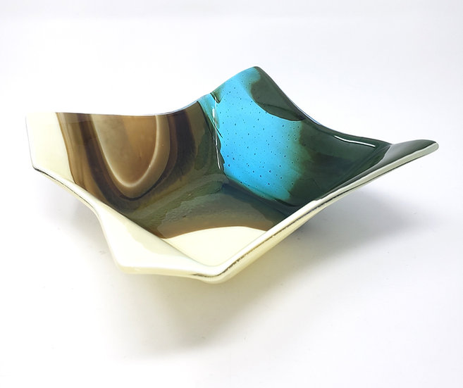 Melting Glacier Organic Bowl