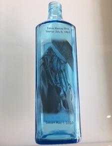 Custom Memorial Glassography