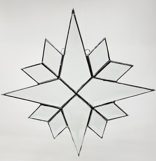 Snowflake Stunning Bevel Design
