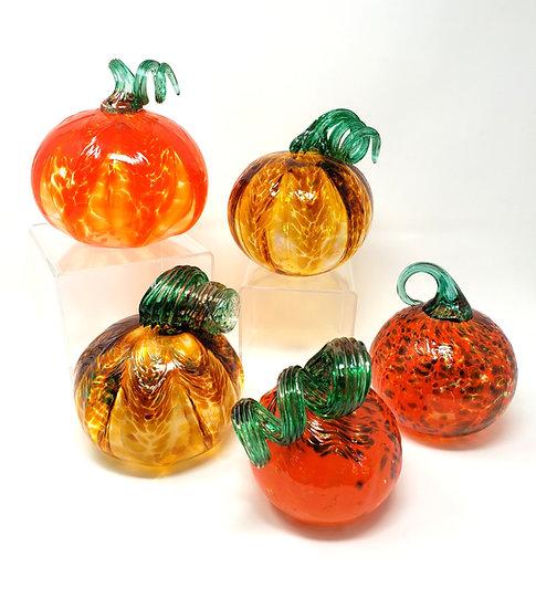 Hand Blown Pumpkins