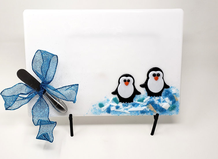 Penguin Christmas Anything Platter