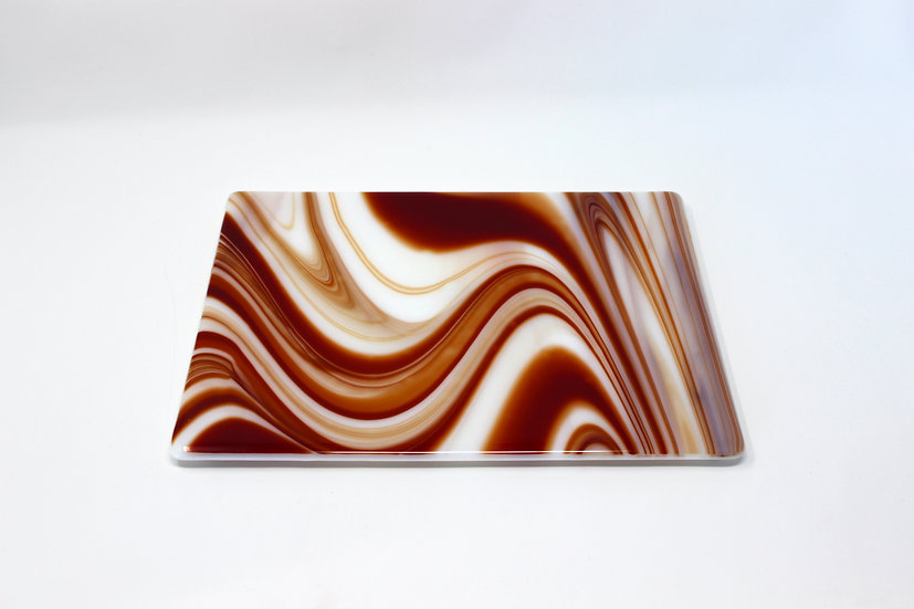 Red Swirl Anything Platter