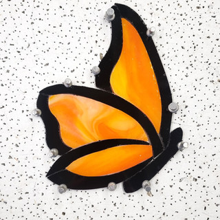 Custom Butterfly Design In Progress Photo