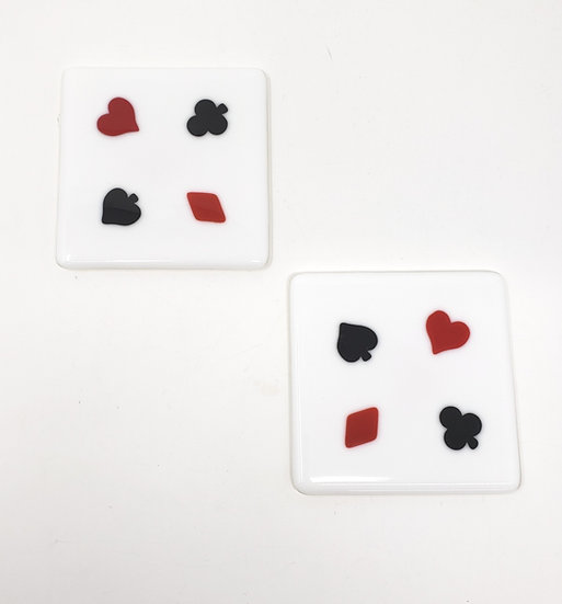 A Full House Set of Two Coasters