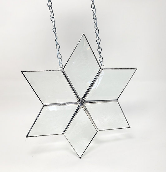 Snowflake Style #6 With Acid Etching