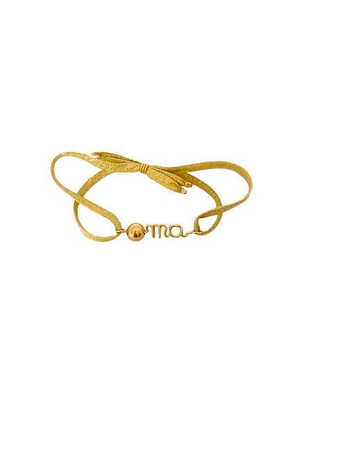 """Bracelets """"O mà"""" version précieuse"""