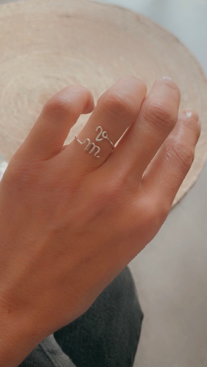 Bague TWO