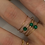 Thumbnail: Bague malachite
