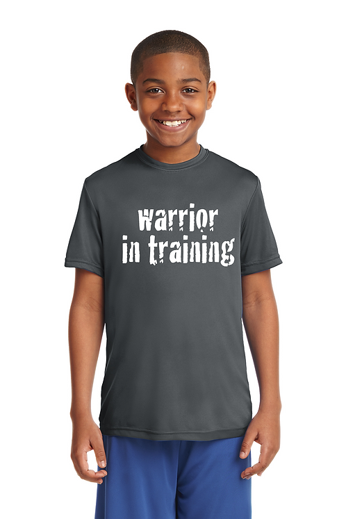 Iron grey Sport-Tek® Youth PosiCharge®Competitor Tee