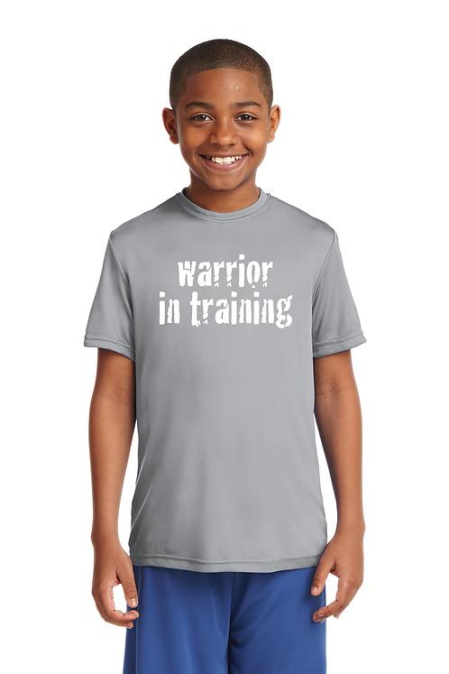 Silver Sport-Tek® Youth PosiCharge® Tough Tee