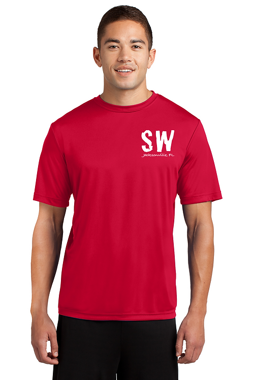 True Red Sport Tek Posi-Charge Competitor Tee