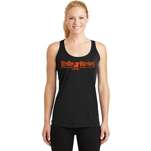 Black Sport-Tek® Ladies PosiCharge® Competitor™ Racerback