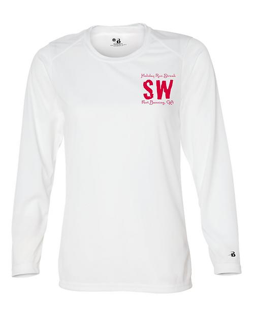 White Badger - B-Core Women's Long Sleeve T-Shirt