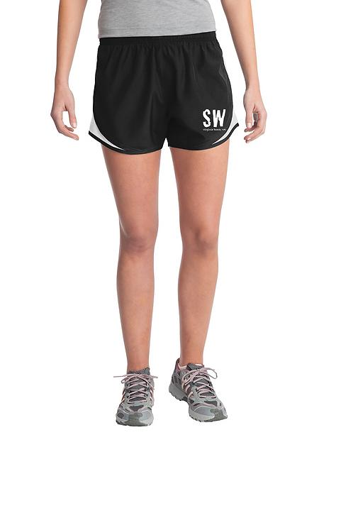 Black Sport-Tek® Ladies Cadence Short