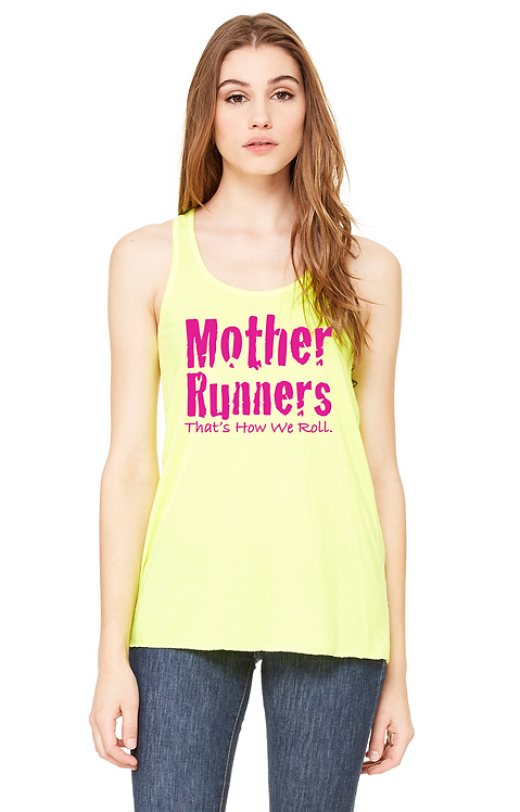 Neon Yellow Bella Flowy tank
