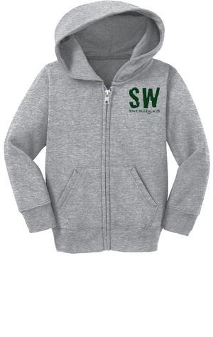 Port & Company® Infant Full-Zip Hooded Sweatshirt