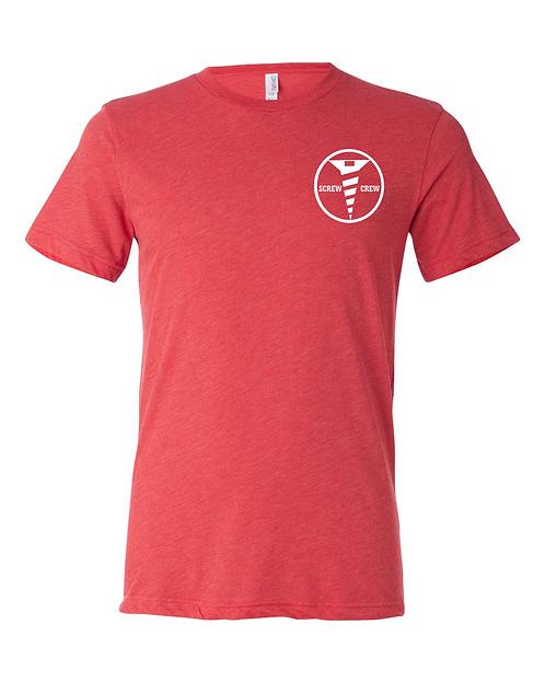 Red Triblend Bella & Canvas - Unisex Triblend Short Sleeve Tee