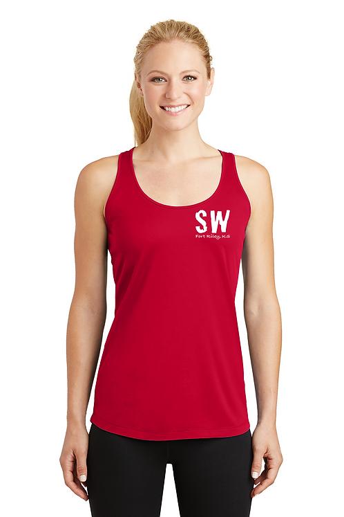 Red Sport-Tek® Ladies PosiCharge® Competitor™ Racerback