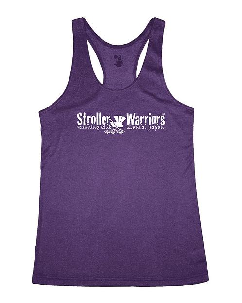 Purple heather C25K Badger - Pro Heather Women's Racerback Tank