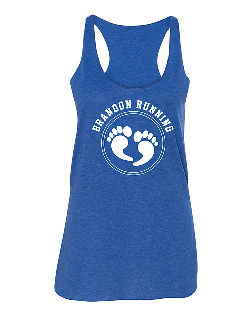 Royal triblend BELLA + CANVAS - Women's Triblend Racerback Tank