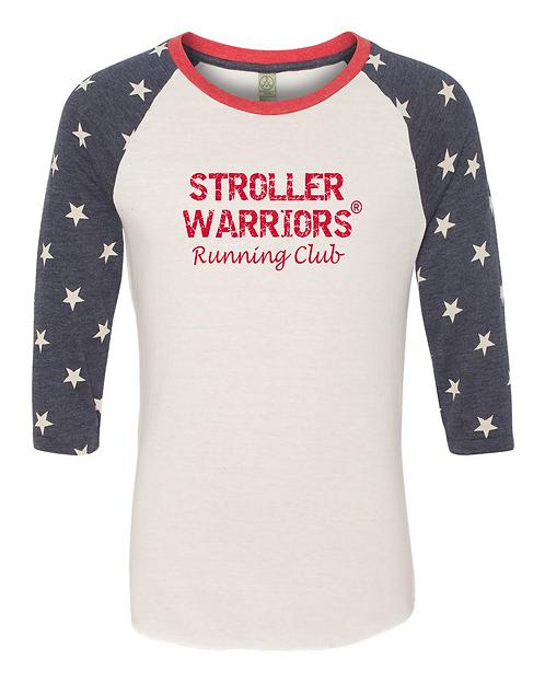 Alternative - Printed Eco-Jersey™ Baseball Raglan T-Shirt