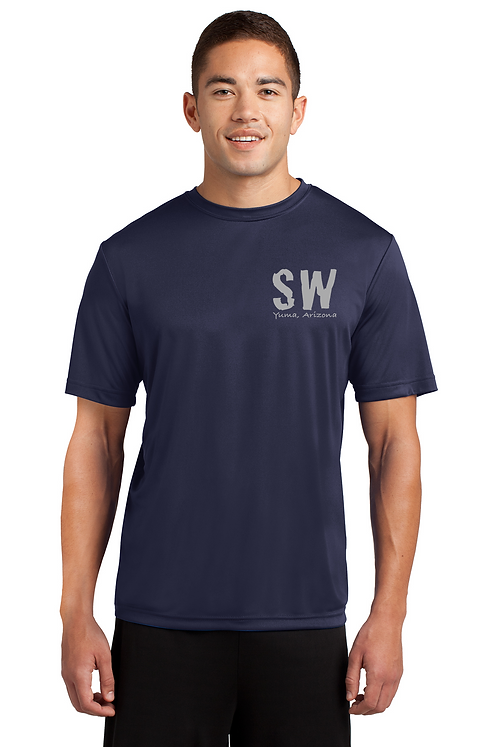 Navy Blue Sport Tek Posi-Charge Competitor Tee
