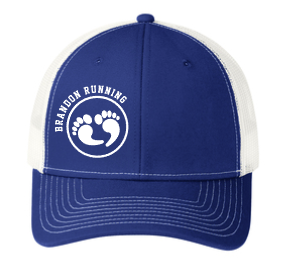Patriot Blue Port Authority® Snapback Trucker Cap