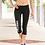 Thumbnail: Black Champion - Women's Performance Capri Leggings