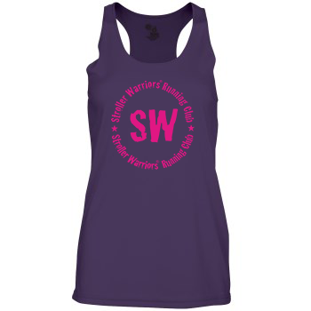 Purple Badger B-Core Women's Racerback Tank Top