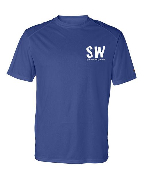 C25K Royal blue Badger - B-Core Short Sleeve T-Shirt