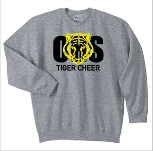 Sport Gray Gildan Heavy Blend™ Crewneck Sweatshirt