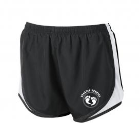 Black/White Sport-Tek® Ladies Cadence Short