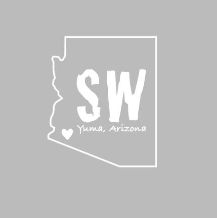 Yuma, AZ State Decal