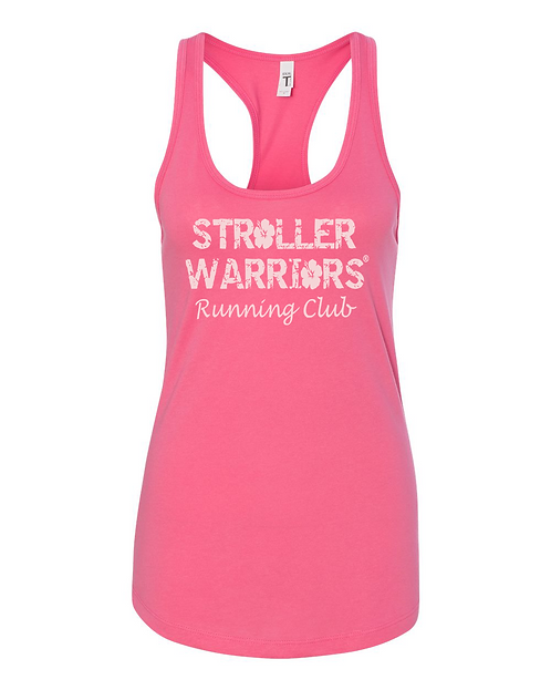 Hot Pink Next Level Ideal Ladies Tank