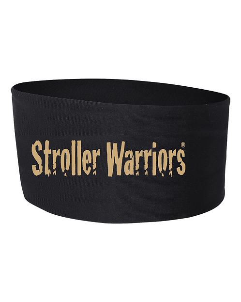 Black Badger - Wide Headband