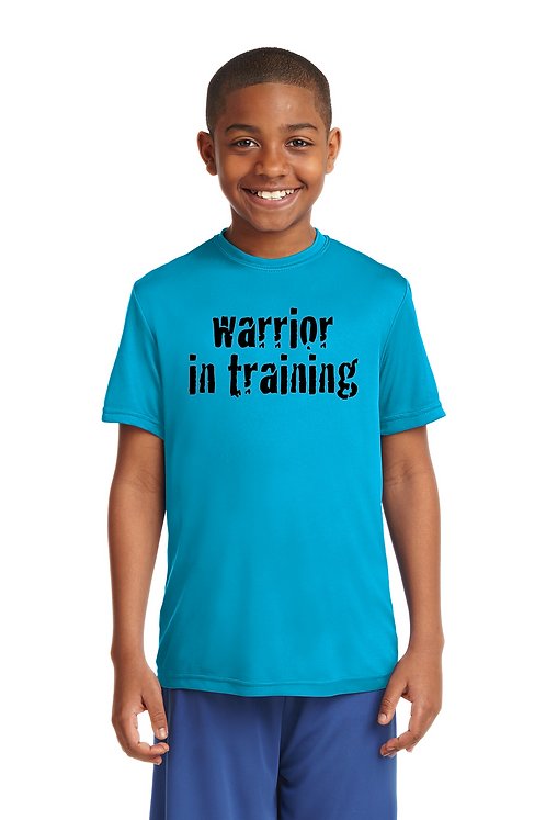 Atomic Blue  Sport-Tek Youth PosiCharge Competitor™ Tee