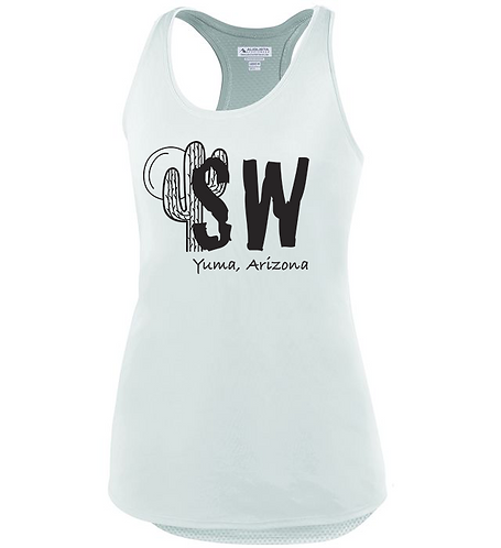 White Augusta Sportswear - Women's Sojourner Tank