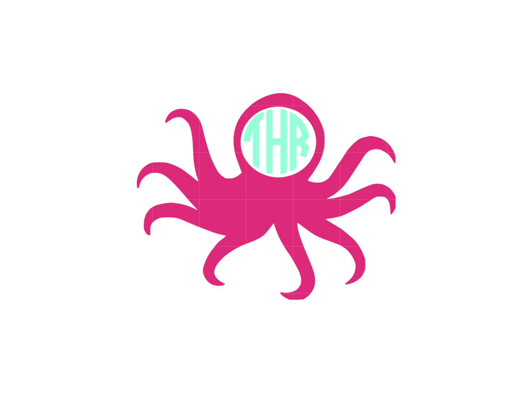 Octopus Vinyle Decal