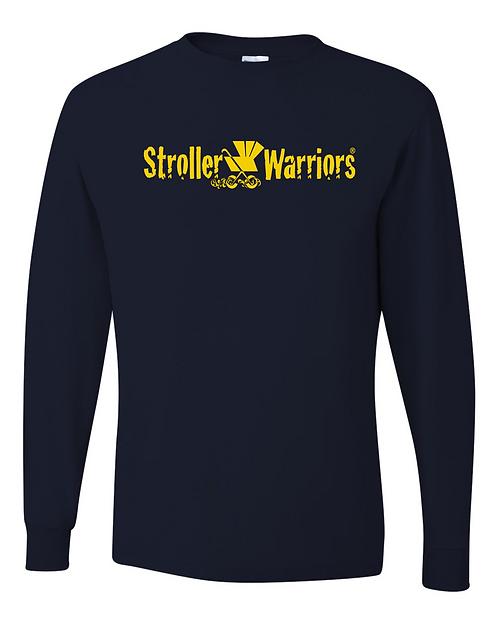 Navy blue Dri-Power® Long Sleeve 50/50 T-Shirt
