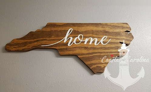 State Wooden Outline, Hometown, My home, My City