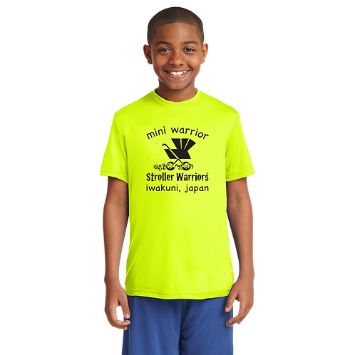 Neon yellow  Sport-Tek Youth PosiCharge Competitor™ Tee