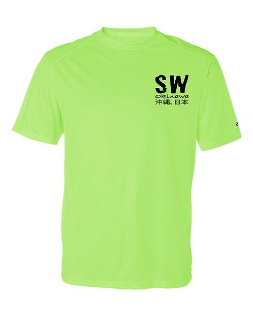 Lime  Badger - B-Core Short Sleeve T-Shirt