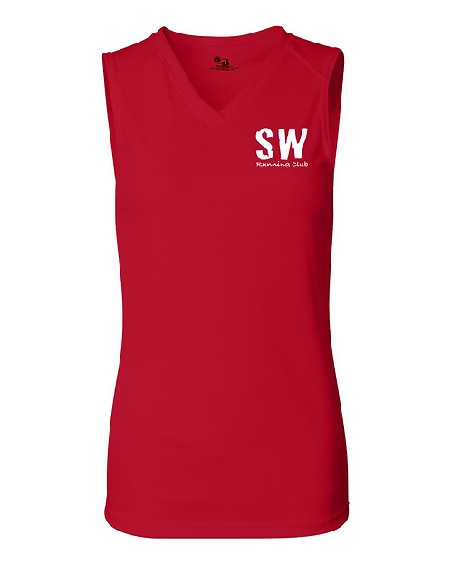 Red Badger - B-Core Women's Sleeveless T-Shirt