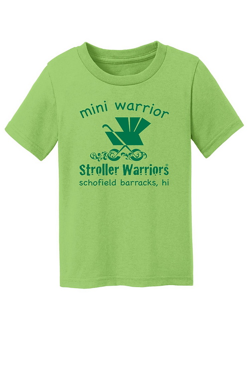 Lime Green  Port & Company® Toddler & Youth Core Cotton Tee