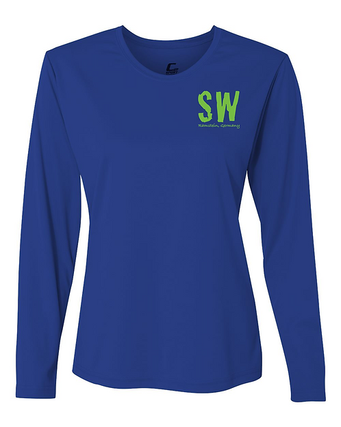 Royal C2 Sport - Performance Women's Long Sleeve T-Shirt